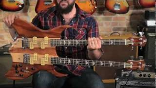 B.C. Rich Bich Double Neck Bass - Spinal Tap