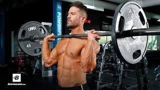 Upper Body Push Workout | Mike Hildebrandt by Bodybuilding.com