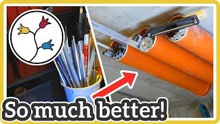 GARAGE STORAGE SOLUTIONS: MAKE THIS Simple Overhead Storage Solution