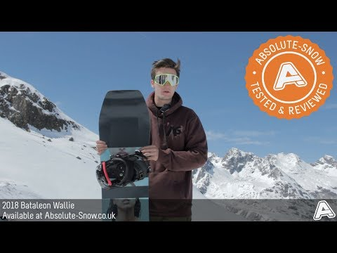 2017 / 2018 | Bataleon Wallie Snowboard | Video Review