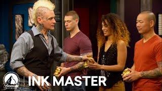Ink Master Season 4, Episode 11: Japanese Snakes Elimination Tattoo