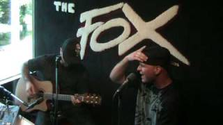"Evans Blue performs ""Sick Of It"" live on 101.7 The Fox"
