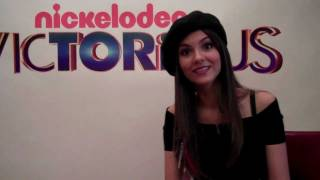 Виктория Джастис, Victoria Justice talks to Sugarscape about One Direction and Harry Styles