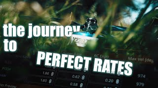 The Journey to Perfect Rates - FPV Freestyle