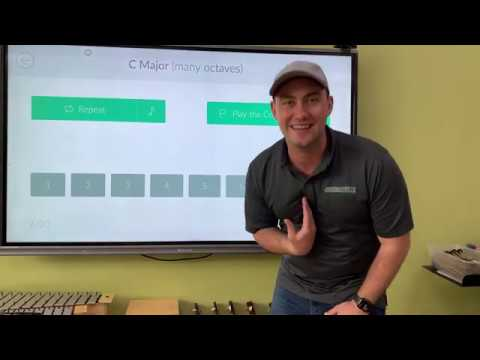 Functional Ear Training Game (C Major Many Octaves) Perfect Score walkthrough with Mr. Sontag