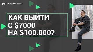 Как выйти с $7000 на $100.000 за 3 месяца, используя автоворонку продаж? | Вебинар уже СЕГОДНЯ