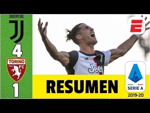 ¡GOLAZO DE CR7! Cristiano Ronaldo marcó de tiro libre ante el Torino y la Juventus no cede terreno