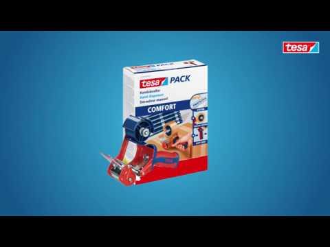 tesapack COMFORT - Professioneller Packbandabroller