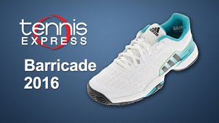 Adidas Barricade 2016 Clay Men's Tennis Shoes video