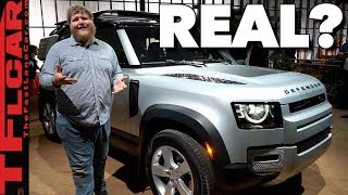 """Is The 2020 Land Rover Defender a """"REAL"""" Defender?"""