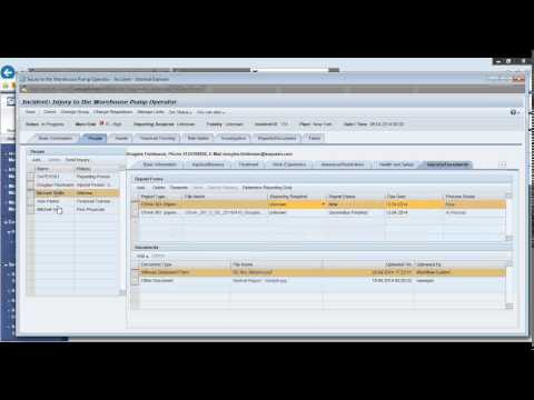 Webinar and LIVE Demo of SAP EHSM Health and Safety Solutions ...