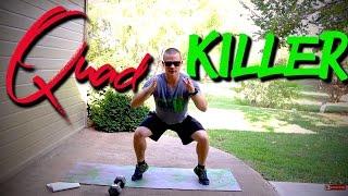 Quad Killer... Squat Challenge by Trainer Ben