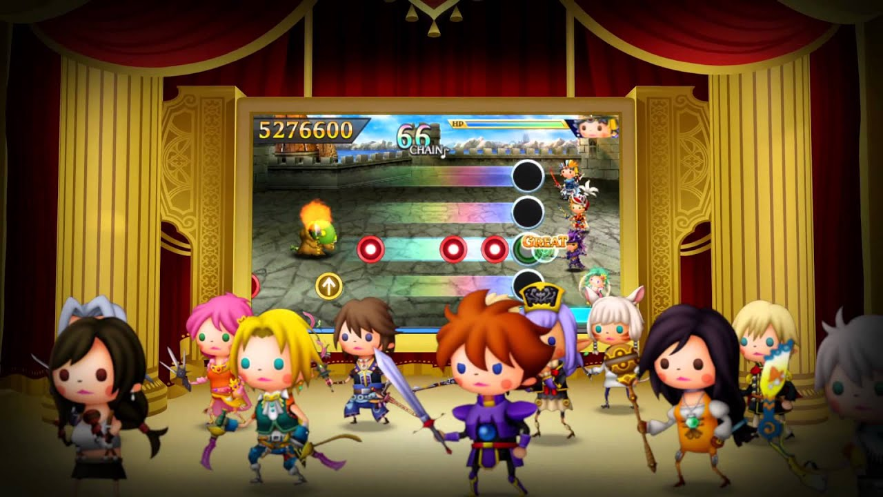 Video Theatrhythm Final Fantasy Curtain Call [Nintendo 3DS]