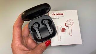 Boltune Earbuds Sport Kopfhörer in-ear Bluetooth 5.0 mit iPhone Unboxing [deutsch]