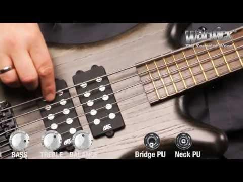 Warwick RockBass Corvette $$ 5 String Nirvana Black Transparent Satin