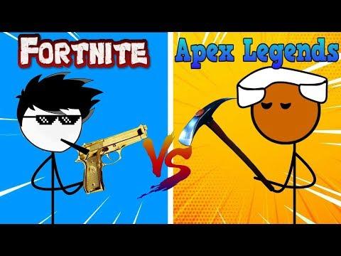 Fortnite Gamers Vs Apex Legends Gamers
