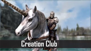 Skyrim's Creation Club is Back With Unicorns and A Vengeance (New Skyrim Creation Club Releases)