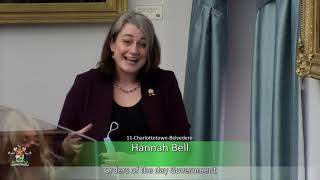Response to the Speech from the Throne – 2021 – Part One (MLA Hannah Bell)