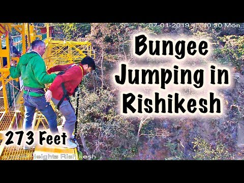 MY FIRST BUNGEE JUMPING IN RISHIKESH, INDIA