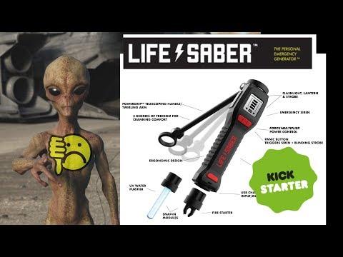EEVblog #1251 - LifeSaber Kickstarter - A Master of None FAIL