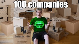 I Contacted 100 Companies To Get Free Stuff