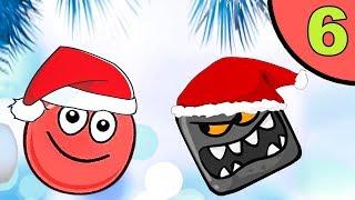 Несносный красный шар. Покатушки #6. Мультик ИГРА Red Ball Roll на Игрули TV