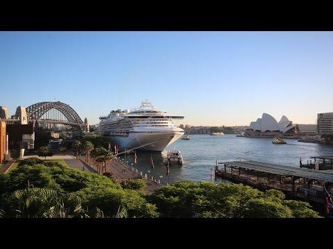 Australia-New Zealand Princess Cruise Vacation 2016 – Diamond Princess