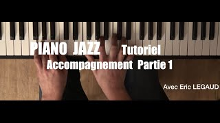 Piano Bar Jazz (Episode 1)   Tutoriel Facile Grands Débutants