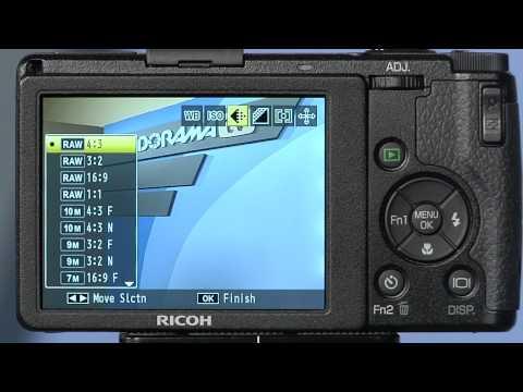 Ricoh GR Digital IV Camera: Product Reviews: Adorama Photography TV