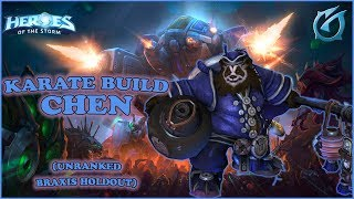 Grubby | Heroes of the Storm - Karate Build CHEN - Unranked - Braxis Holdout