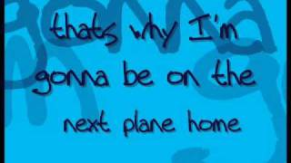 Daniel Powter Next Plane Home SONG&LYRICS