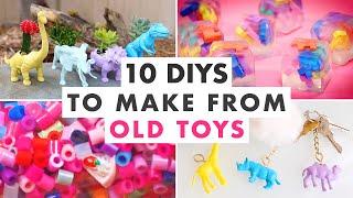 10 DIYs Using Old Toys