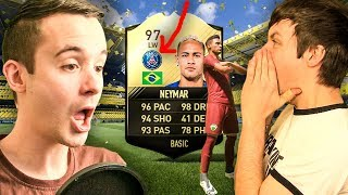 97 PSG NEYMAR = EYE DROPPING - FIFA 17 PACK OPENING