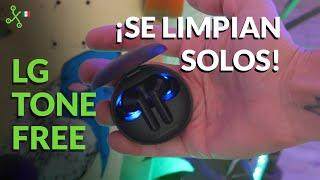 LG Tone Free en México: PROBAMOS los audífonos que se LIMPIAN SOLOS