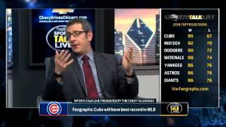 SportsTalk Live: FanGraphs projects Cubs to lead MLB in wins in 2016