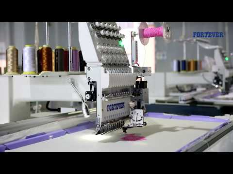 Fortever Single Head Embroidery Machine Model Ft-1201-xl