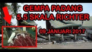 Detikdetik GEMPA PADANG Senin 09 Januari 2017