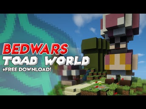 bedwars map toad world free download