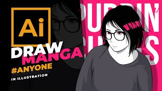 How To Draw Manga With Adobe Illustrator CC