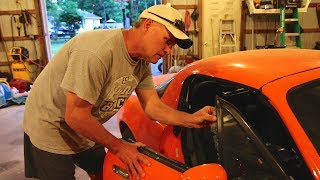 DESTROYING MY DADS ANTIQUE CAR! (REAL)