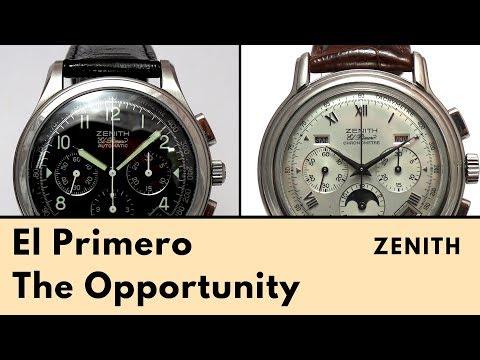Zenith El Primero – The Opportunity