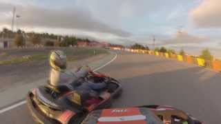 preview picture of video 'tarde movida en karting Cabanillas gopro'