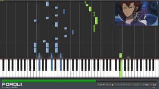 Fairy Tail Opening 12 - Tenohira (Synthesia)