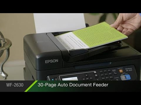 Epson WorkForce WF-2630 All-in-One Printer | Inkjet | Printers | For