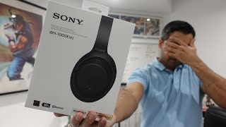 Sony WH-1000XM3 Unboxing (and Getting Scammed)