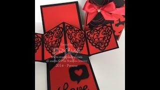 Valentine Twist & Pop Up Card with Deb Valder