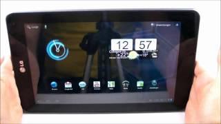 LG Optimus Pad: Das Video zum Praxistest