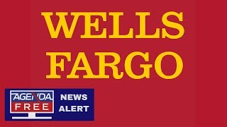 Wells Fargo Down Again   LIVE COVERAGE