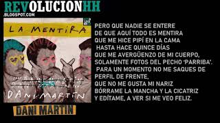 Dani Martin   La Mentira | Letra | 2019