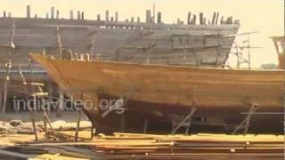 Shipbuilding at Mandvi